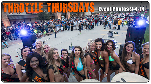 Throttle Thursdays Event Photos from September 4th 2014